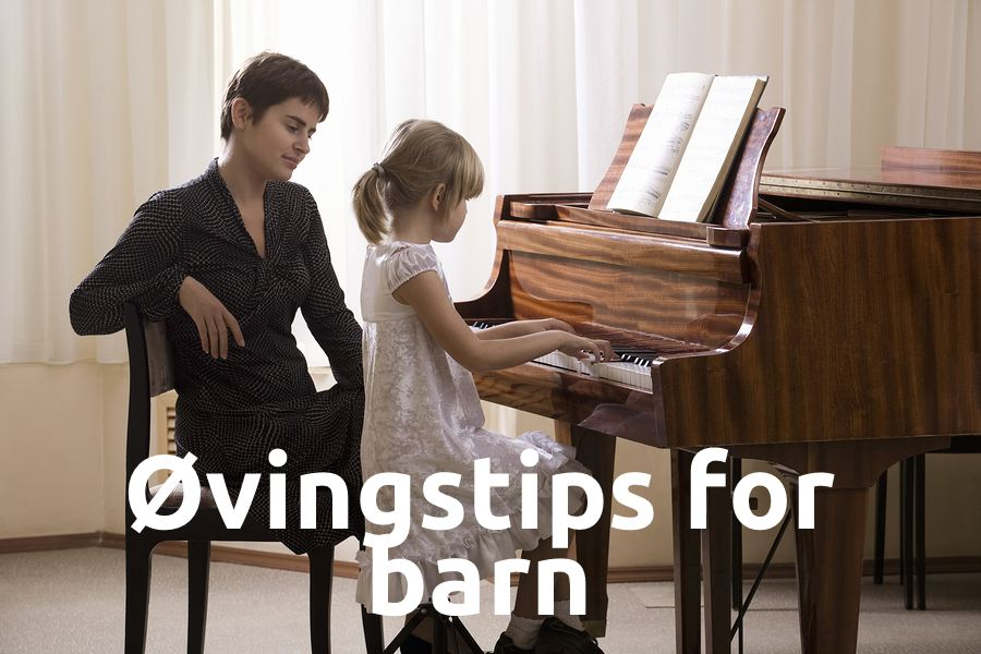Øvingstips for barn